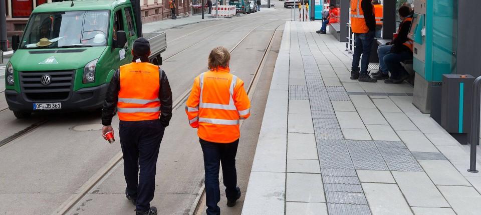 Station Musterschule Ein Drittel Barrierefreiheit