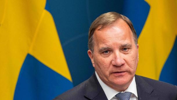 Schwedens Ministerpräsident kündigt Rücktritt an