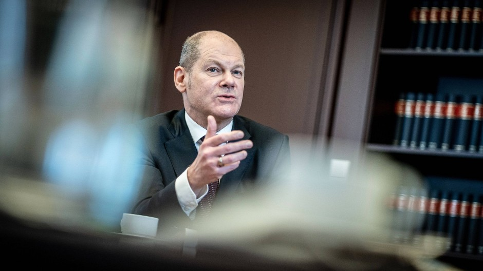 Olaf Scholz (SPD), Bundesminister der Finanzen und SPD-Kanzlerkandidat