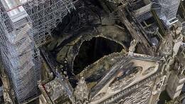 """Notre-Dame soll """"großen Regenschirm"""" bekommen"""