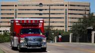 Das Texas Health Presbyterian Krankenhauses in Dallas