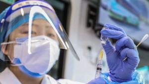 China weicht Frage nach Aufhebung von Impf-Patenten aus