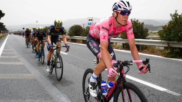 Jungels fährt beim Giro weiter in Rosa