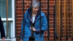 May will allen EU-Regierungschefs noch einmal ins Gewissen reden