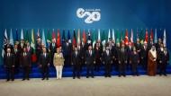 G20 wollen der Welt einen Wachstumsschub geben