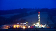 Frackinganlage in Pennsylvannia
