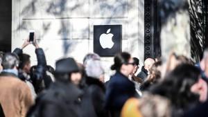 Apple zahlt in Frankreich halbe Milliarde Euro Steuern nach