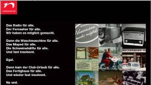 Neckermann-Insolvenzverfahren eröffnet