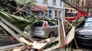 Orkan Niklas hat den Versicherungen hohe Aufwendungen beschert.