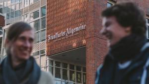 Die F.A.Z. und Google suchen einen Datenjournalismus-Stipendiaten