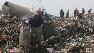Der Müll stinkt zum Himmel