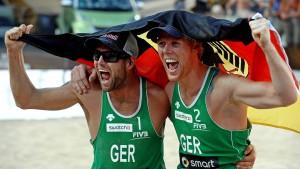 Brink/Reckermann wieder Europameister