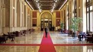 Eine der berüchtigtesten Parlamentslobbys der Welt: das Foyer der italienischen Abgeordnetenkammer in Rom