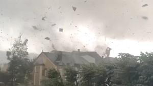 Mindestens 19 Verletzte bei Tornado in Luxemburg