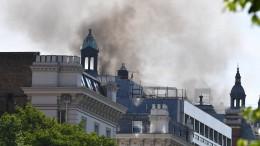 Über 100 Feuerwehrleute bei einem Brand in der Londoner Innenstadt
