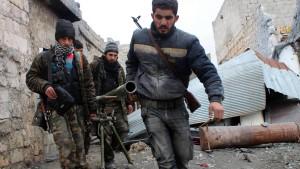 Rebellen schießen Kampfflugzeug ab