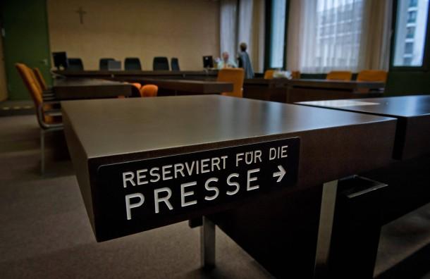 Probleme um Presseplaetze beim NSU-Prozess weiter ungeloest