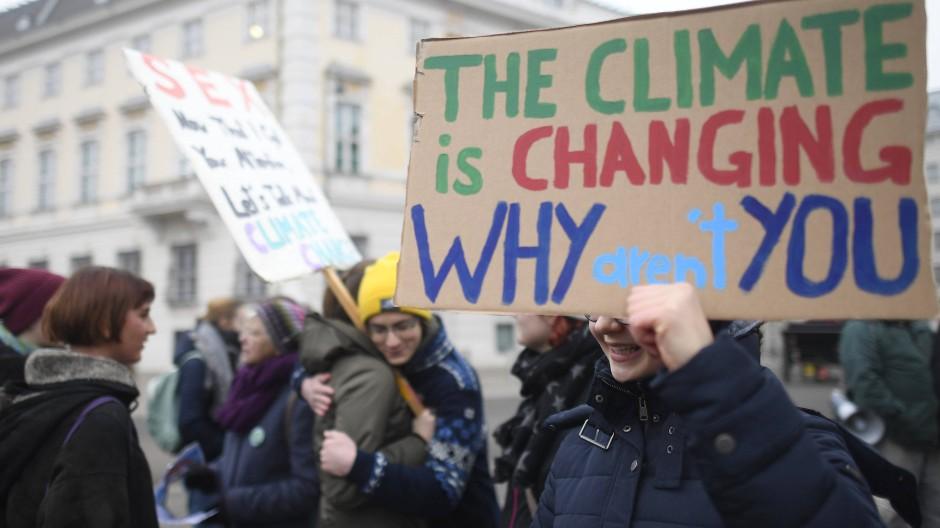 Fridays for Future macht Druck auf künftige Regierung