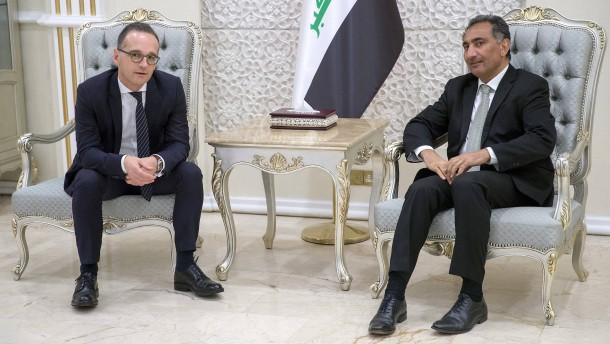 Maas warnt vor Nachlassen im Kampf gegen IS