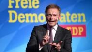 Hat mit seiner Absage an einen CDU-Finanzminister viele in der Union verärgert: der FDP-Vorsitzende Christian Lindner