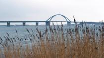 Einen von vielen Sanierungsfällen: Die Fehmarnsundbrücke