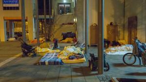 Weniger bezahlbare Wohnungen, mehr Obdachlose