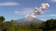 Mehrere Vulkanausbrüche in Mexiko