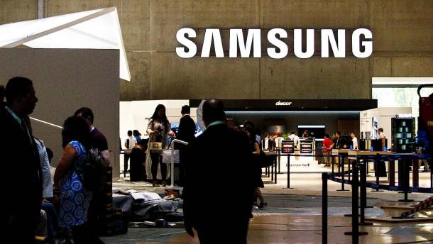 Geopolitische Spannungen rütteln Samsung durch