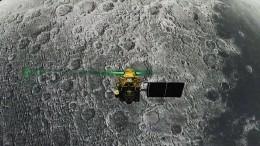 Indische Landesonde auf dem Mond lokalisiert