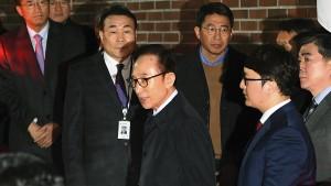 Haftbefehl gegen ehemaligen südkoreanischen Präsidenten