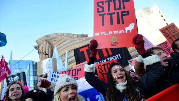 Wie die Befürworter TTIP schönrechnen