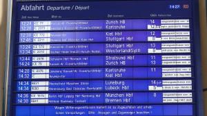 Deutsche Bahn fährt hinterher