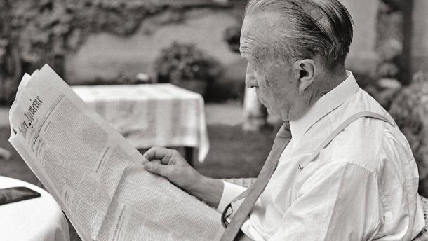 Dr. Adenauer und Herr Lüg