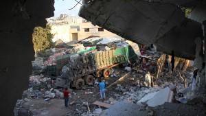 Russland und Syrien weisen Verantwortung zurück