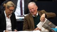 AfD-Spitze im Bundestag: Alice Weidel und Alexander Gauland