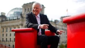 """Seehofer hält Dieselverbote für """"blanken Irrsinn"""""""
