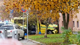 Nach Krankenwagen-Vorfall Waffen und Drogen gefunden