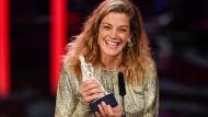 """Im Januar wurde Marie Bäumer für ihre Rolle im Film """"3 Tage in Quiberon"""" als beste Darstellerin auch mit dem Bayerischen Filmpreis ausgezeichnet."""