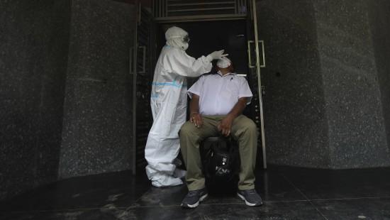 Indien verzeichnet zweithäufigste Corona-Infektionen
