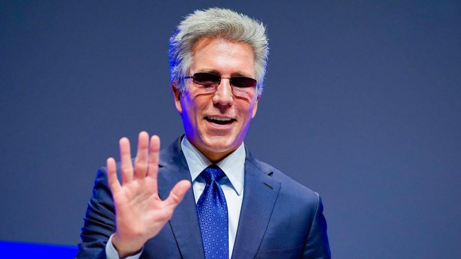 Bill McDermott, Vorstandssprecher beim Softwarekonzern SAP, ist Spitzenverdiener im Dax.