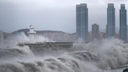 """Taifun """"Haishen"""" erreicht Küste Südkoreas"""