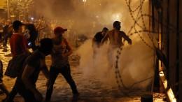 Proteste gegen Regierung in Beirut reißen nicht ab