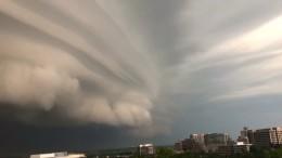 Himmel über Washington spielt verrückt