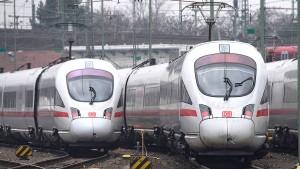 In Frankfurt fallen die meisten Fernzüge aus