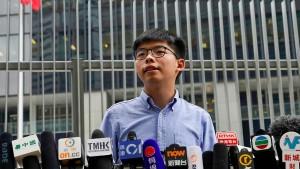 Joshua Wong darf nicht antreten