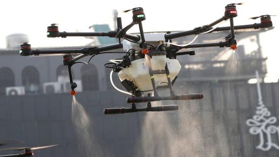 Wasser-Drohnen sollen Smog bekämpfen