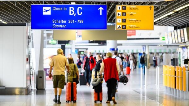 Bittere Botschaft vom Flughafen