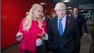 Zwielichtige IT-Gründerin: Jennifer Arcuri und Boris Johnson 2013 in London
