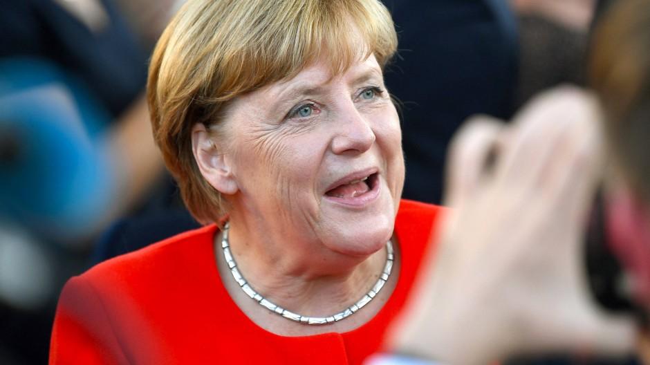 Ihr eigenes Programm: Angela Merkel