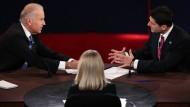 Biden und Ryan streiten in Fernsehduell über Außenpolitik